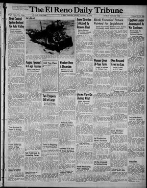 Primary view of object titled 'The El Reno Daily Tribune (El Reno, Okla.), Vol. 57, No. 256, Ed. 1 Tuesday, December 28, 1948'.
