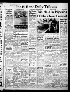 Primary view of object titled 'The El Reno Daily Tribune (El Reno, Okla.), Vol. 64, No. 258, Ed. 1 Friday, December 30, 1955'.