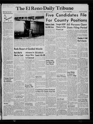 Primary view of The El Reno Daily Tribune (El Reno, Okla.), Vol. 64, No. 356, Ed. 1 Monday, April 23, 1956
