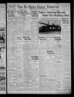 Primary view of The El Reno Daily Tribune (El Reno, Okla.), Vol. 49, No. 208, Ed. 1 Tuesday, October 29, 1940