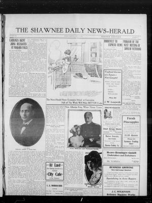 Primary view of object titled 'The Shawnee Daily News-Herald (Shawnee, Okla.), Vol. 19, No. 226, Ed. 2 Sunday, May 31, 1914'.