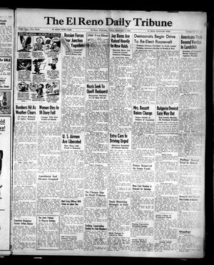 Primary view of object titled 'The El Reno Daily Tribune (El Reno, Okla.), Vol. 53, No. 158, Ed. 1 Friday, September 1, 1944'.