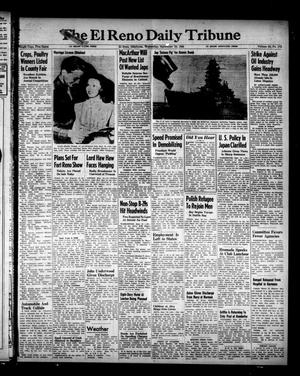 Primary view of The El Reno Daily Tribune (El Reno, Okla.), Vol. 54, No. 172, Ed. 1 Wednesday, September 19, 1945