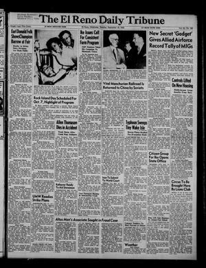 Primary view of The El Reno Daily Tribune (El Reno, Okla.), Vol. 61, No. 169, Ed. 1 Tuesday, September 16, 1952