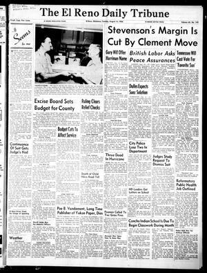 Primary view of The El Reno Daily Tribune (El Reno, Okla.), Vol. 65, No. 143, Ed. 1 Tuesday, August 14, 1956