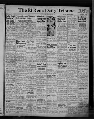 Primary view of object titled 'The El Reno Daily Tribune (El Reno, Okla.), Vol. 53, No. 48, Ed. 1 Tuesday, April 25, 1944'.