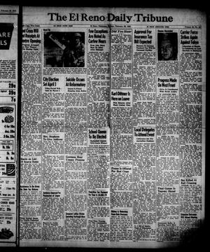 Primary view of object titled 'The El Reno Daily Tribune (El Reno, Okla.), Vol. 53, No. 307, Ed. 1 Sunday, February 25, 1945'.