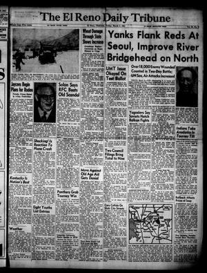 Primary view of The El Reno Daily Tribune (El Reno, Okla.), Vol. 60, No. 8, Ed. 1 Friday, March 9, 1951