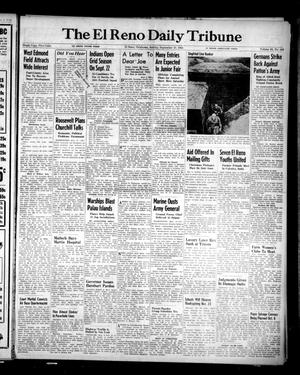 Primary view of object titled 'The El Reno Daily Tribune (El Reno, Okla.), Vol. 53, No. 164, Ed. 1 Sunday, September 10, 1944'.