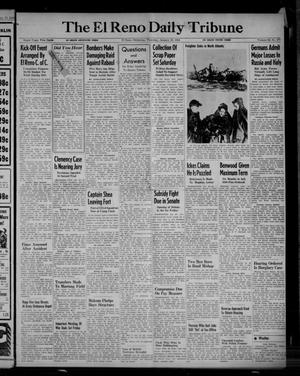Primary view of object titled 'The El Reno Daily Tribune (El Reno, Okla.), Vol. 52, No. 277, Ed. 1 Thursday, January 20, 1944'.