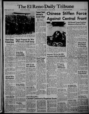 Primary view of The El Reno Daily Tribune (El Reno, Okla.), Vol. 60, No. 205, Ed. 1 Monday, October 29, 1951