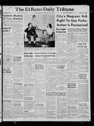 Primary view of The El Reno Daily Tribune (El Reno, Okla.), Vol. 64, No. 287, Ed. 1 Thursday, February 2, 1956