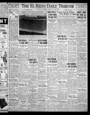 Primary view of object titled 'The El Reno Daily Tribune (El Reno, Okla.), Vol. 47, No. 45, Ed. 1 Thursday, April 28, 1938'.