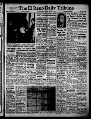 Primary view of object titled 'The El Reno Daily Tribune (El Reno, Okla.), Vol. 61, No. 296, Ed. 1 Thursday, February 12, 1953'.