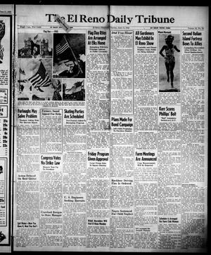 Primary view of object titled 'The El Reno Daily Tribune (El Reno, Okla.), Vol. 52, No. 90, Ed. 1 Sunday, June 13, 1943'.