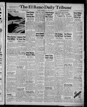 Primary view of object titled 'The El Reno Daily Tribune (El Reno, Okla.), Vol. 56, No. 107, Ed. 1 Sunday, July 6, 1947'.