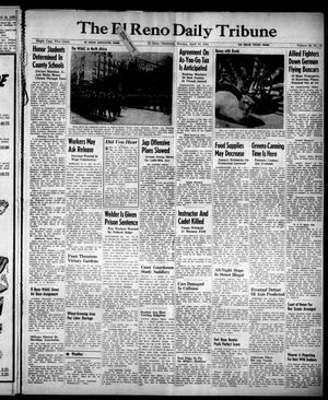 Primary view of object titled 'The El Reno Daily Tribune (El Reno, Okla.), Vol. 52, No. 43, Ed. 1 Monday, April 19, 1943'.