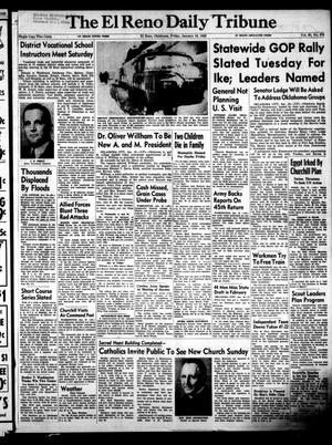 Primary view of object titled 'The El Reno Daily Tribune (El Reno, Okla.), Vol. 60, No. 274, Ed. 1 Friday, January 18, 1952'.