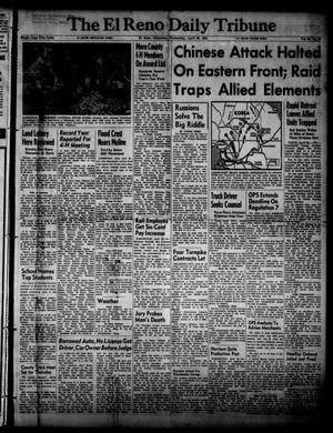 Primary view of object titled 'The El Reno Daily Tribune (El Reno, Okla.), Vol. 60, No. 48, Ed. 1 Wednesday, April 25, 1951'.