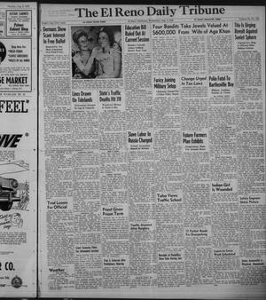 Primary view of object titled 'The El Reno Daily Tribune (El Reno, Okla.), Vol. 58, No. 132, Ed. 1 Wednesday, August 3, 1949'.