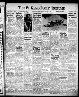 Primary view of object titled 'The El Reno Daily Tribune (El Reno, Okla.), Vol. 51, No. 273, Ed. 1 Sunday, January 17, 1943'.