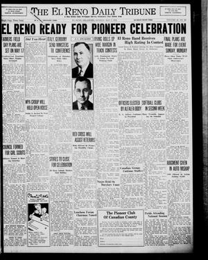 Primary view of object titled 'The El Reno Daily Tribune (El Reno, Okla.), Vol. 48, No. 62, Ed. 1 Sunday, May 7, 1939'.