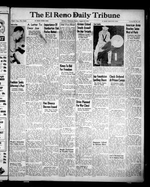 Primary view of object titled 'The El Reno Daily Tribune (El Reno, Okla.), Vol. 53, No. 147, Ed. 1 Sunday, August 20, 1944'.