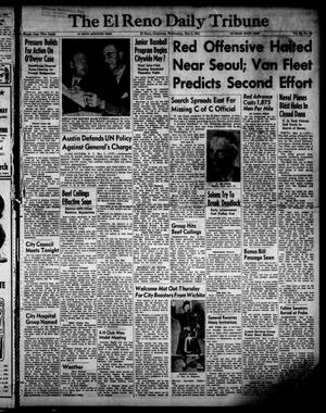 Primary view of object titled 'The El Reno Daily Tribune (El Reno, Okla.), Vol. 60, No. 54, Ed. 1 Wednesday, May 2, 1951'.