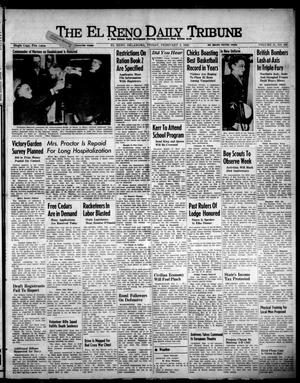 Primary view of object titled 'The El Reno Daily Tribune (El Reno, Okla.), Vol. 51, No. 290, Ed. 1 Friday, February 5, 1943'.