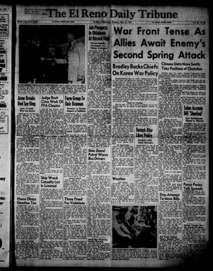 Primary view of object titled 'The El Reno Daily Tribune (El Reno, Okla.), Vol. 60, No. 65, Ed. 1 Tuesday, May 15, 1951'.