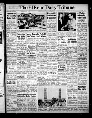 Primary view of object titled 'The El Reno Daily Tribune (El Reno, Okla.), Vol. 63, No. 64, Ed. 1 Wednesday, May 12, 1954'.