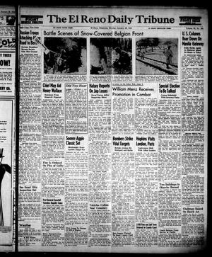 Primary view of object titled 'The El Reno Daily Tribune (El Reno, Okla.), Vol. 53, No. 284, Ed. 1 Monday, January 29, 1945'.