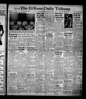Primary view of object titled 'The El Reno Daily Tribune (El Reno, Okla.), Vol. 56, No. 183, Ed. 1 Friday, October 3, 1947'.