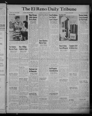 Primary view of object titled 'The El Reno Daily Tribune (El Reno, Okla.), Vol. 52, No. 257, Ed. 1 Tuesday, December 28, 1943'.