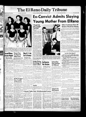 Primary view of object titled 'The El Reno Daily Tribune (El Reno, Okla.), Vol. 63, No. 286, Ed. 1 Thursday, January 27, 1955'.