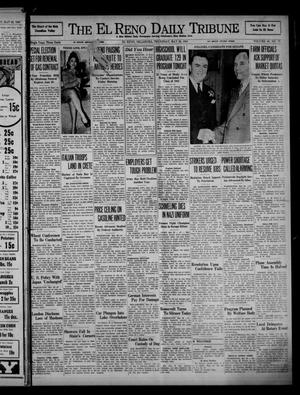 Primary view of object titled 'The El Reno Daily Tribune (El Reno, Okla.), Vol. 50, No. 77, Ed. 1 Thursday, May 29, 1941'.