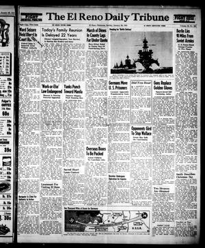 Primary view of object titled 'The El Reno Daily Tribune (El Reno, Okla.), Vol. 53, No. 283, Ed. 1 Sunday, January 28, 1945'.