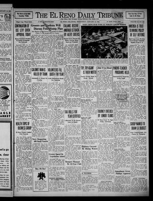 Primary view of object titled 'The El Reno Daily Tribune (El Reno, Okla.), Vol. 49, No. 274, Ed. 1 Wednesday, January 15, 1941'.