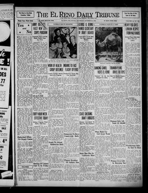 Primary view of object titled 'The El Reno Daily Tribune (El Reno, Okla.), Vol. 49, No. 204, Ed. 1 Thursday, October 24, 1940'.
