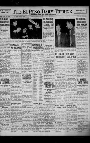 Primary view of object titled 'The El Reno Daily Tribune (El Reno, Okla.), Vol. 50, No. 211, Ed. 1 Monday, November 3, 1941'.