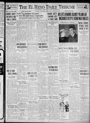 Primary view of object titled 'The El Reno Daily Tribune (El Reno, Okla.), Vol. 48, No. 160, Ed. 1 Wednesday, August 30, 1939'.