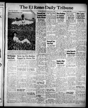 Primary view of object titled 'The El Reno Daily Tribune (El Reno, Okla.), Vol. 52, No. 45, Ed. 1 Wednesday, April 21, 1943'.