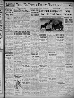 Primary view of object titled 'The El Reno Daily Tribune (El Reno, Okla.), Vol. 48, No. 141, Ed. 1 Tuesday, August 8, 1939'.