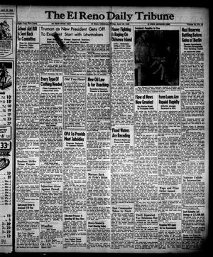 Primary view of object titled 'The El Reno Daily Tribune (El Reno, Okla.), Vol. 54, No. 44, Ed. 1 Friday, April 20, 1945'.