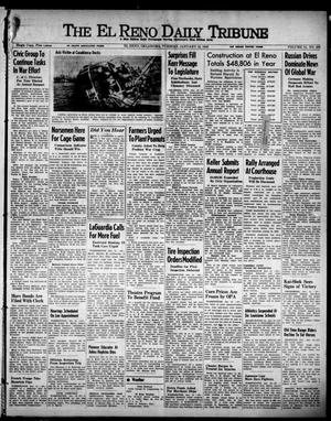 Primary view of object titled 'The El Reno Daily Tribune (El Reno, Okla.), Vol. 51, No. 269, Ed. 1 Tuesday, January 12, 1943'.