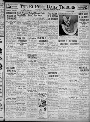 Primary view of object titled 'The El Reno Daily Tribune (El Reno, Okla.), Vol. 48, No. 150, Ed. 1 Friday, August 18, 1939'.