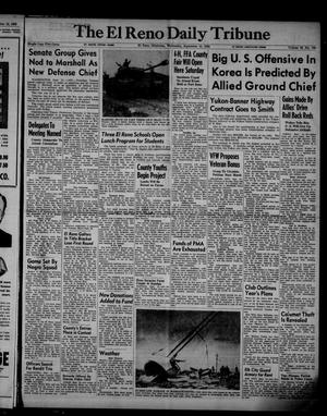 Primary view of object titled 'The El Reno Daily Tribune (El Reno, Okla.), Vol. 59, No. 168, Ed. 1 Wednesday, September 13, 1950'.