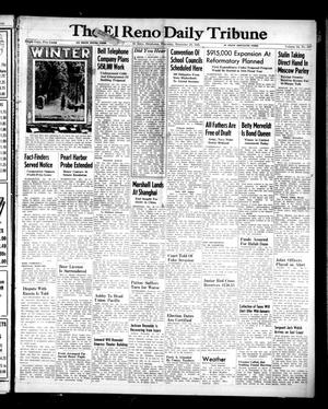 Primary view of object titled 'The El Reno Daily Tribune (El Reno, Okla.), Vol. 54, No. 247, Ed. 1 Thursday, December 20, 1945'.