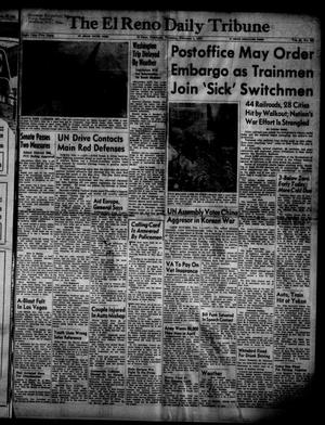 Primary view of object titled 'The El Reno Daily Tribune (El Reno, Okla.), Vol. 59, No. 288, Ed. 1 Thursday, February 1, 1951'.