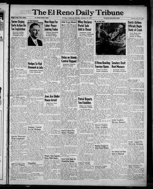 Primary view of object titled 'The El Reno Daily Tribune (El Reno, Okla.), Vol. 55, No. 283, Ed. 1 Monday, January 27, 1947'.